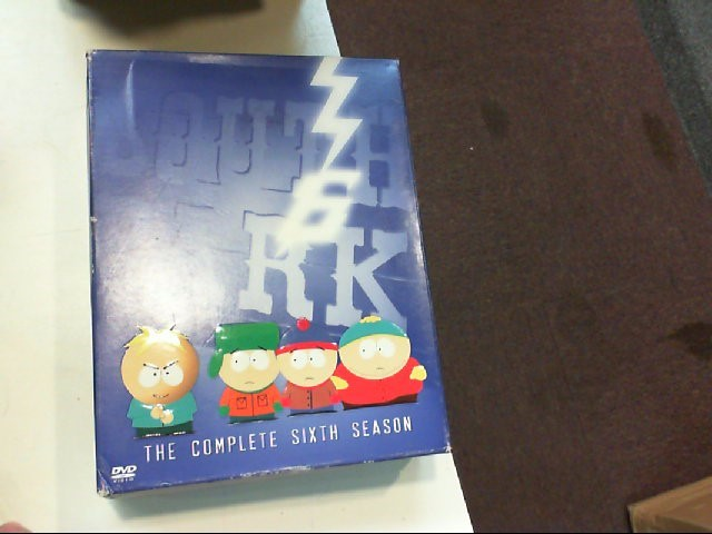 DVD MOVIE DVD SOUTH PARK THE COMPLETE SIXTH SEASON