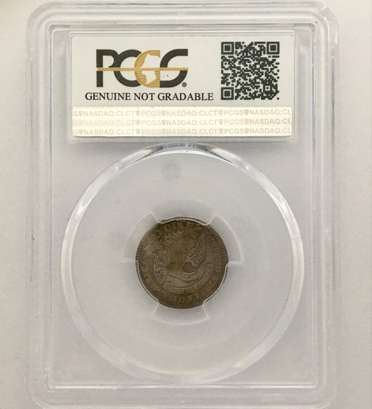 UNITED STATES 1820 O DIME  DRAPED BUST PCGS XF DETAILS CLEANED