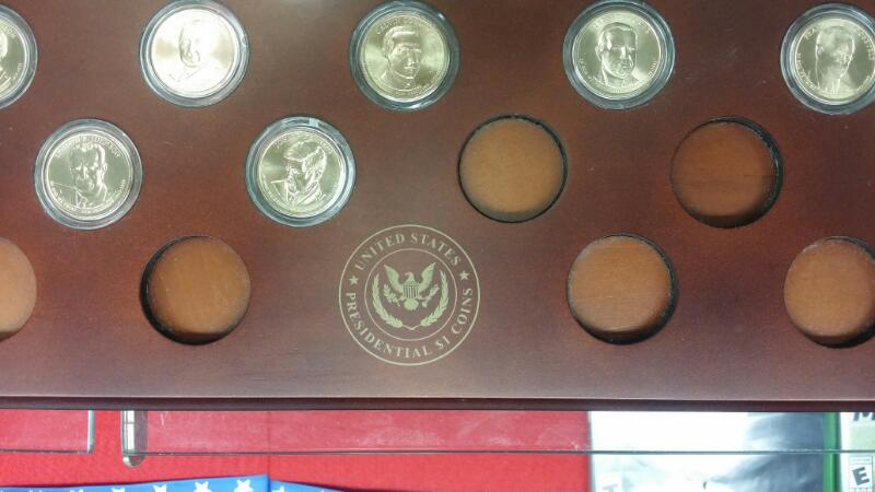 DANBURY MINT PRESIDENTIAL DOLLAR GOLD COIN COLLECTIONS