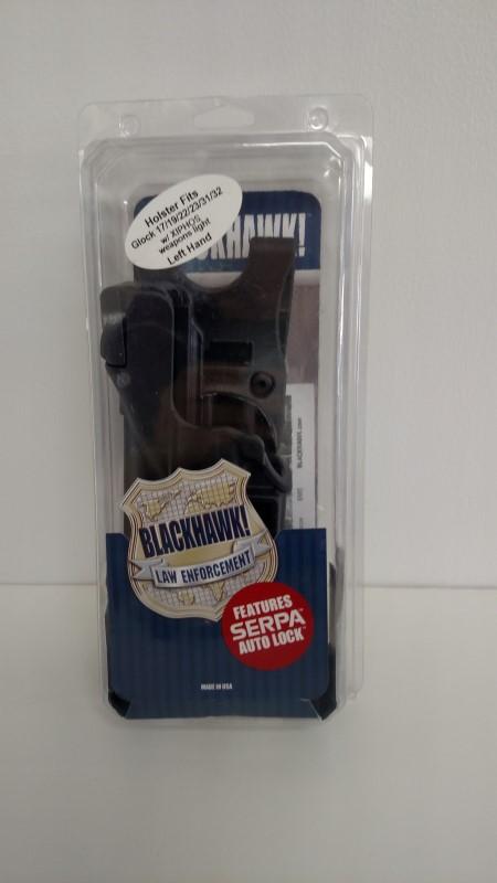 BLACKHAWK DUTY LV3 LB SERPA HOLSTER (LEFT HANDED)
