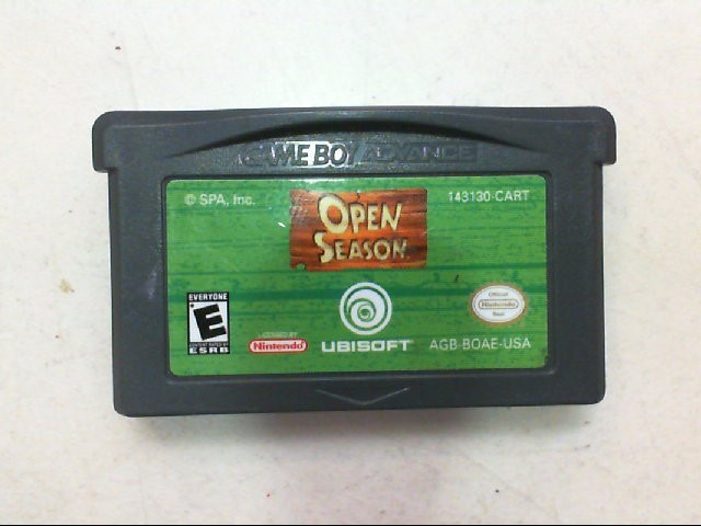 Open Season - Nintendo Gameboy Advance
