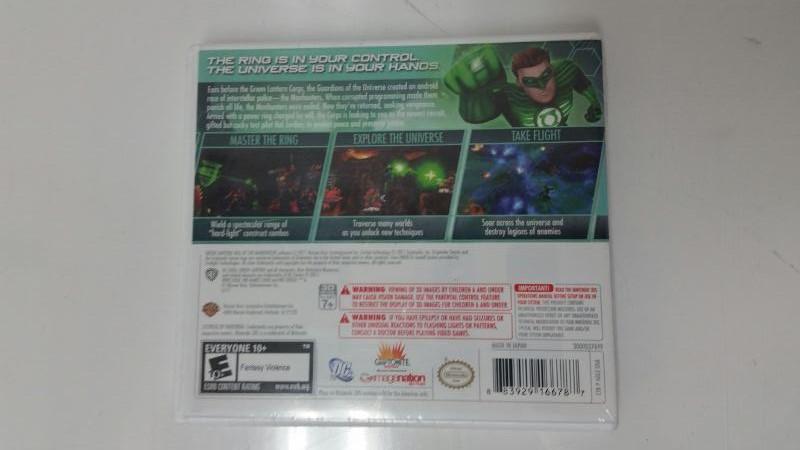 *NEW* Green Lantern: Rise of the Manhunters (Nintendo 3DS)