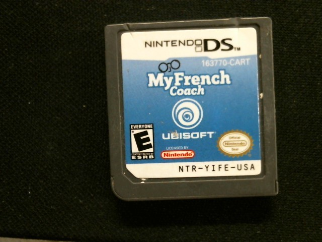 NINTENDO Nintendo DS Game DS MY FRENCH COACH
