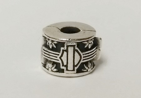 4326cd72d Authentic MOD Sterling Silver 925 Harley Davidson Spring Loaded Clip Bead  Charm