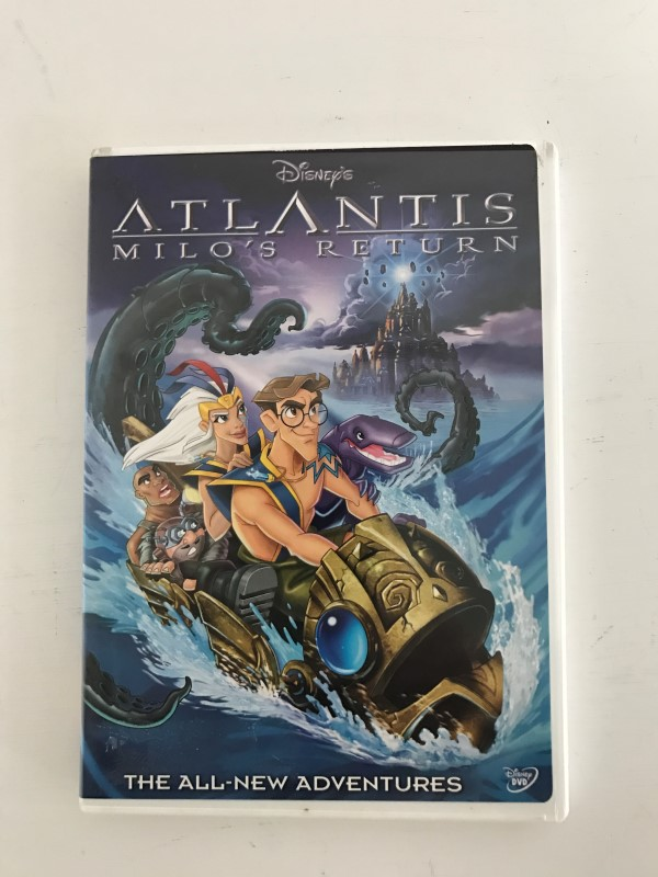 DVD MOVIE ATLANTIS MILOS RETURN