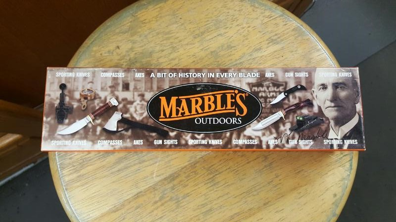 Marbles Marbles Cowboy Knife knives MR 80914, Made in USA