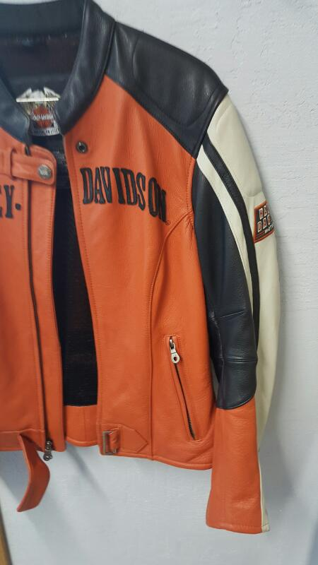 RARE Harley Davidson 97073-05VW Motorcycle Leather Jacket - Medium