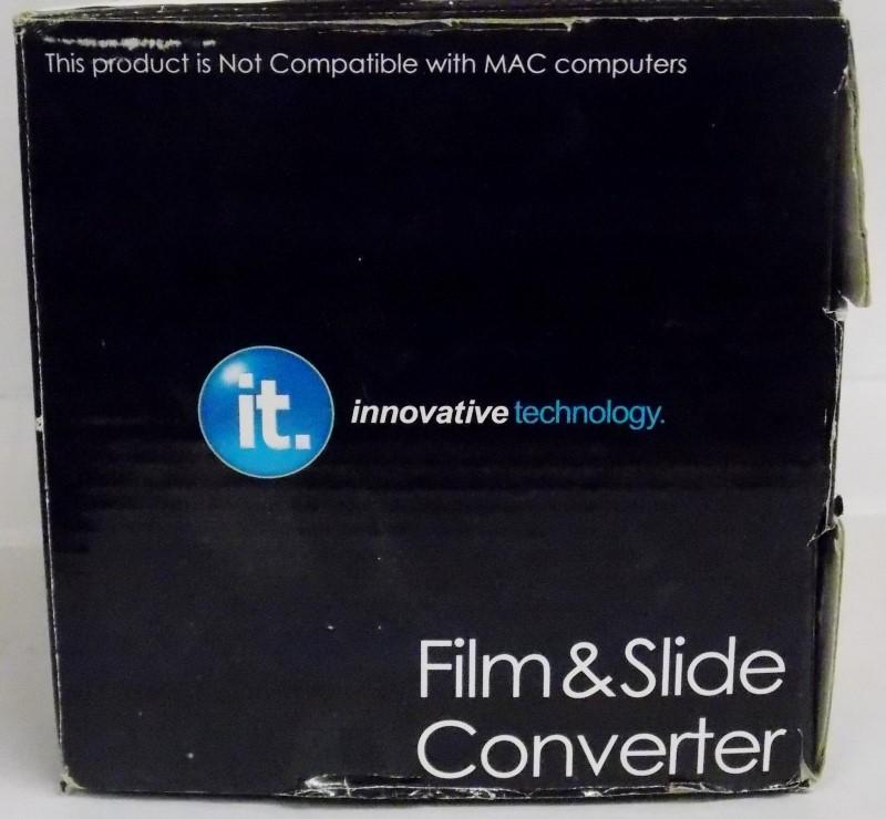 INNOVATIVE TECHNOLOGY FILM & SLIDE CONVERTER, ITNS-400