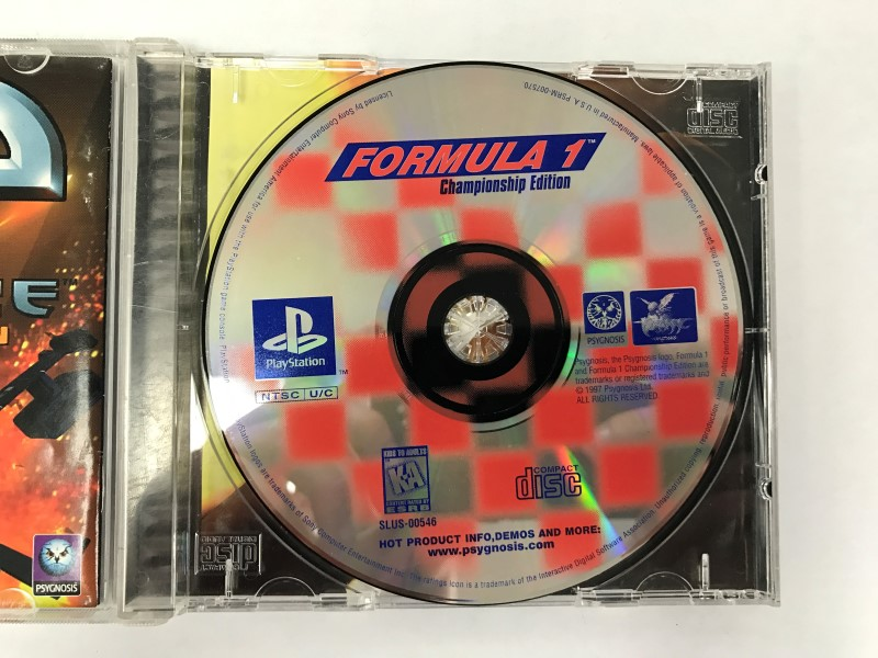 FORMULA 1 CHAMPIONSHIP EDITION PLAYSTATION 1