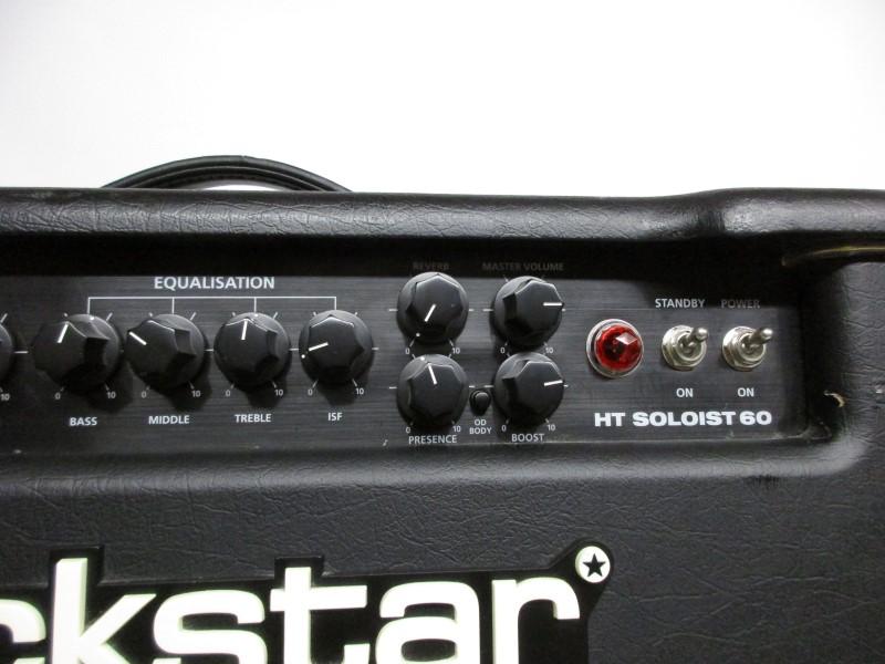 "BLACKSTAR HT SOLOIST 60 1x12"" TUBE COMBO AMP"