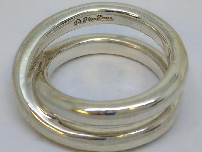 """Tiffany & Co. Paloma Picasso Le Circle Crossover """"X"""" Ring Size - 5.5"""