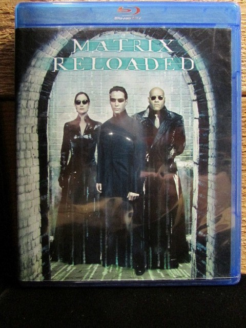 BLU-RAY MOVIE Blu-Ray MATRIX RELOADED