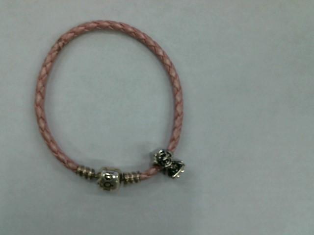 Pandora Silver Fashion Bracelet PANDORA_W/1_CHARM 925 Silver 9.2dwt