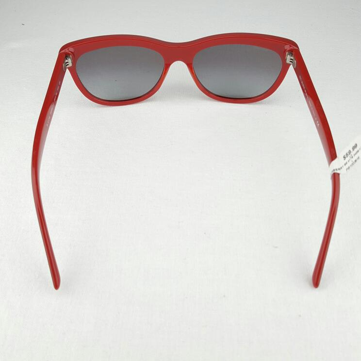 BURBERRY SUNGLASSES BE 4176 3459/11 RED/BLACK
