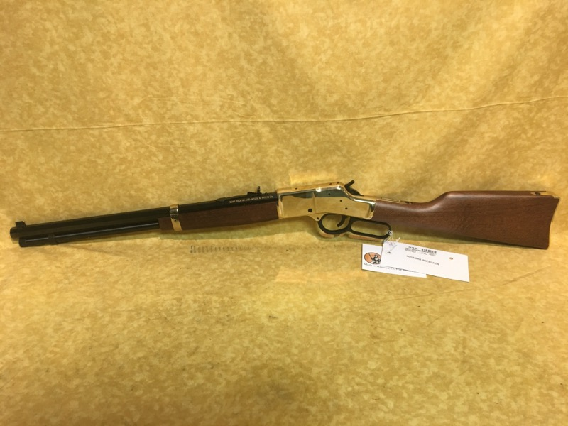 "Henry Big Boy 45 Long Colt ""Brass Receiver"" Lever Action Rifle"