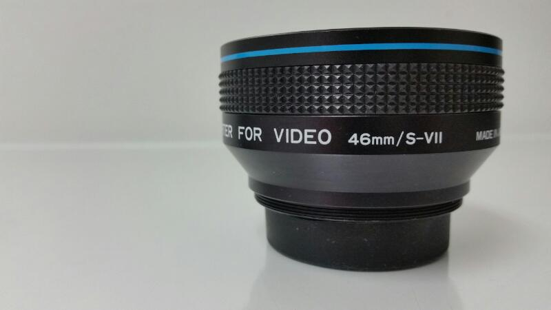 BOWER TELEPHOTO CONVERTER LENS FOR VIDEO 46MM/S-VII
