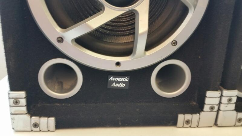 GOLDWOOD SOUND INC ACOUSTIC AUDIO GX450 SPEAKERS]