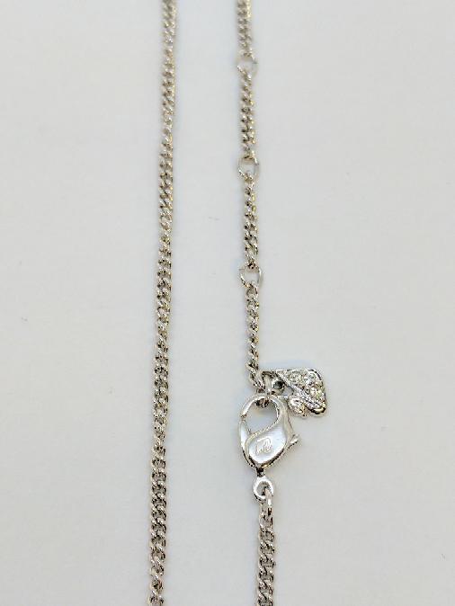 """17"""" Silver Curb Chain 925 Silver 5.7g"""
