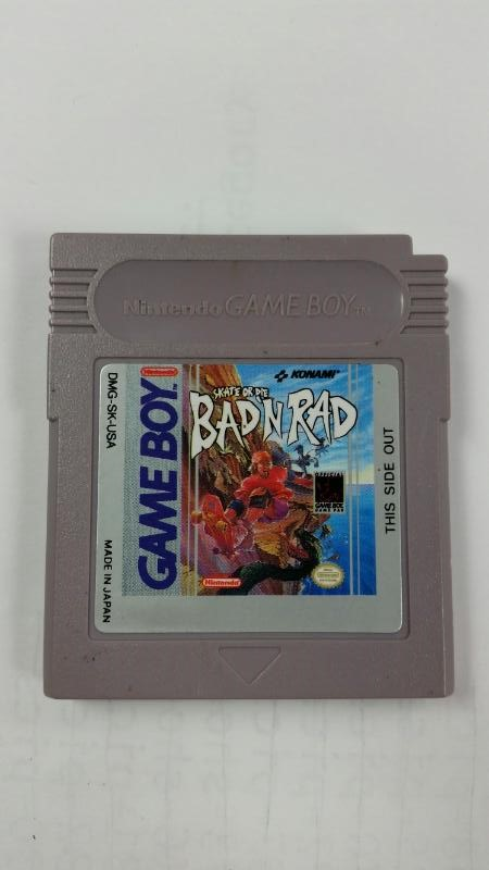 Skate or Die: Bad N Rad (Original Nintendo Gameboy)