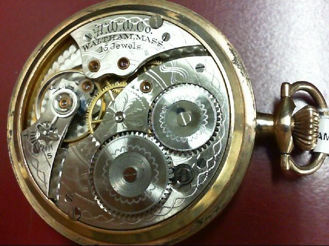 Antique Waltham Pocket Watch 1919