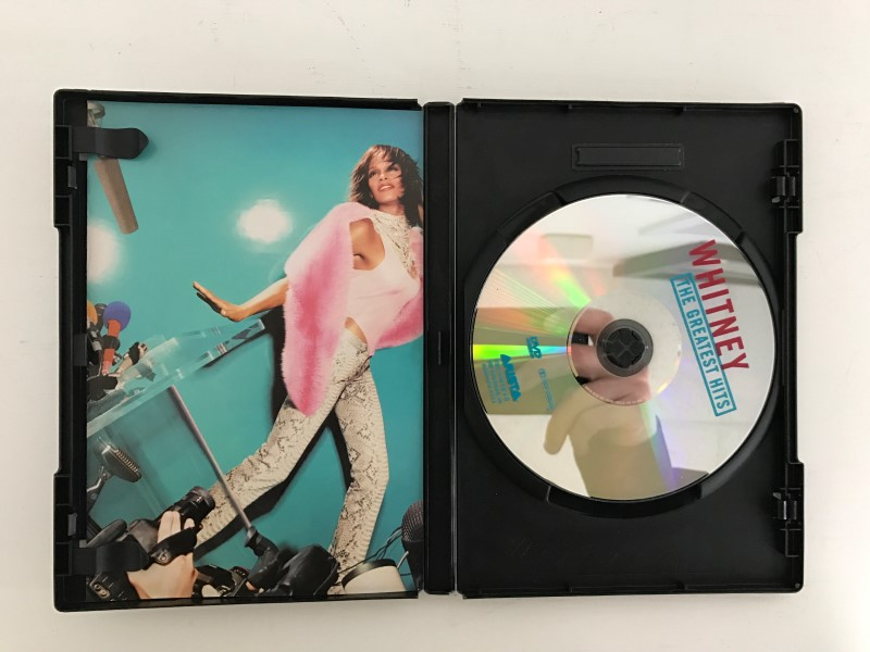 DVD WHITNEY THE GREATEST HITS