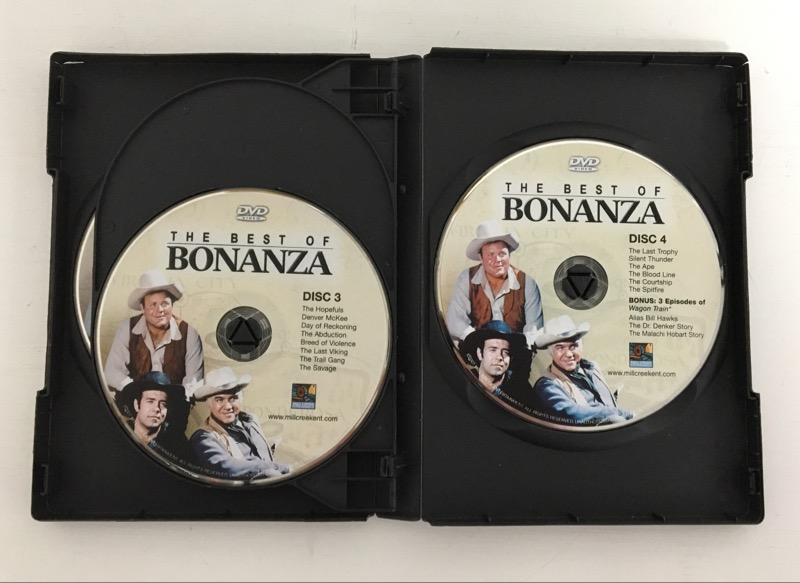 DVD BOX SET THE BEST OF BONANZA TELEVISION CLASSICS 34 EPISODES