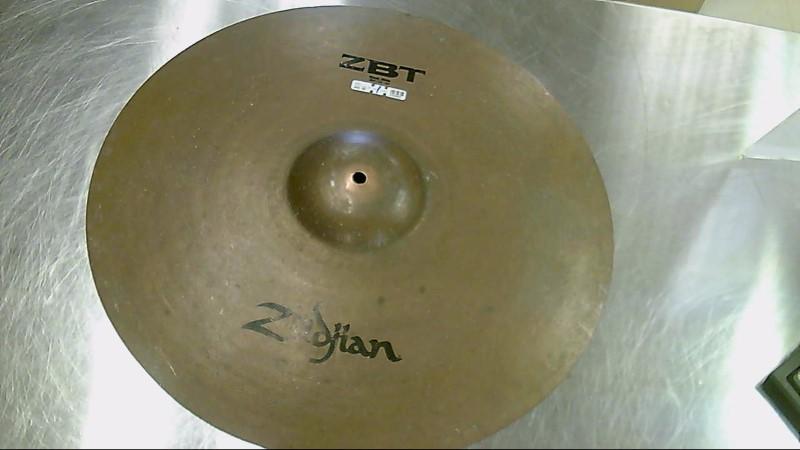 "ZILDJIAN Cymbal ZBT ROCK RIDE 20"""