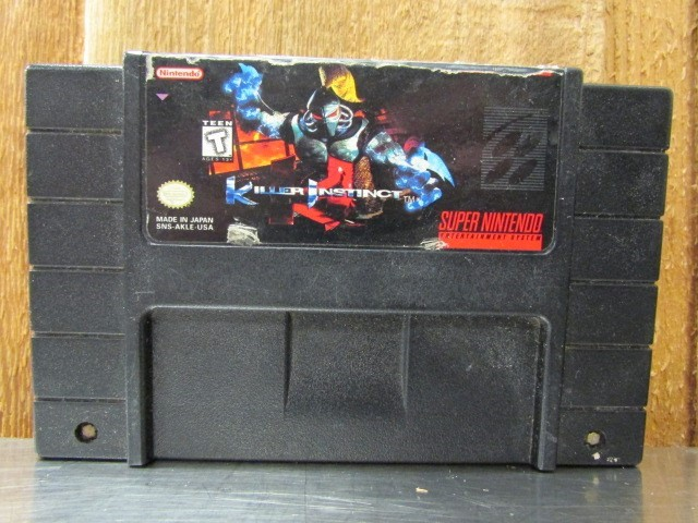 NINTENDO Nintendo SNES Game KILLER INSTINCT SNES