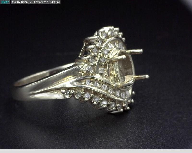 DIAMOND MOUNTING APX.42C.T.W 10KWG 4.8G SZ.8