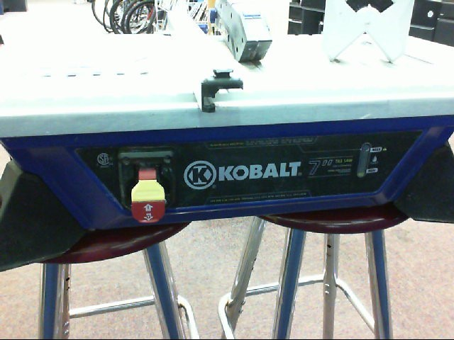 KOBALT TOOLS Tile Saw KWS B7-06
