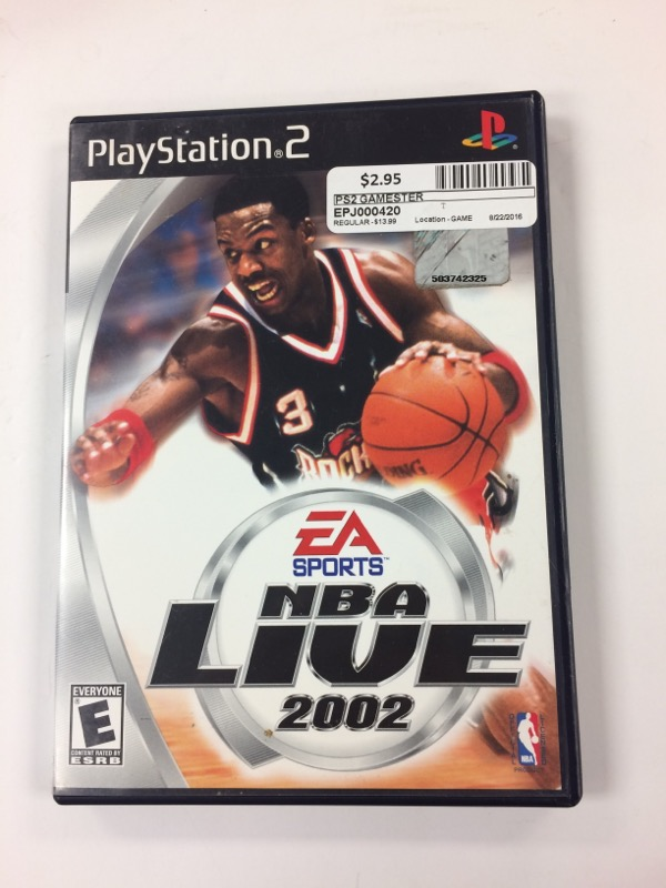 Sony PlayStation 2 Game GAMESTER