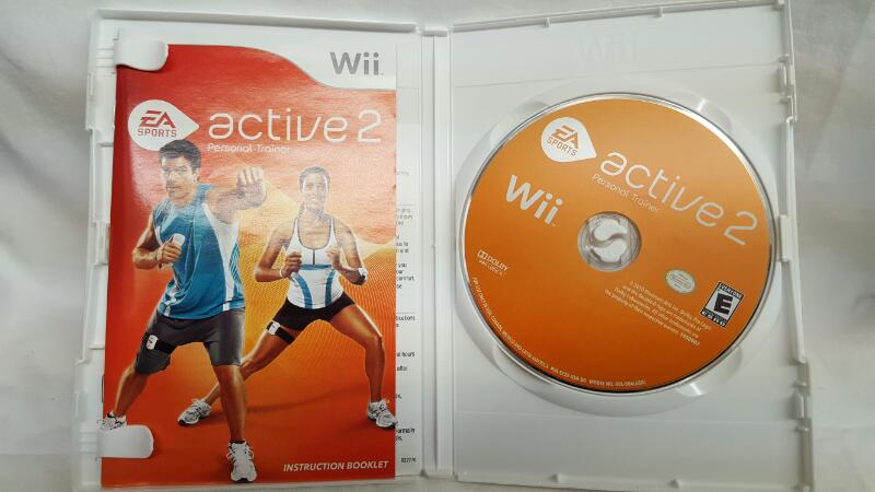 NINTENDO Wii Game ACTIVE 2 PERSONAL TRAINER