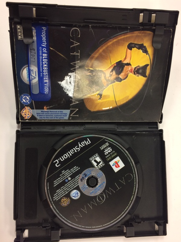 SONY Sony PlayStation 2 Game CATWOMAN