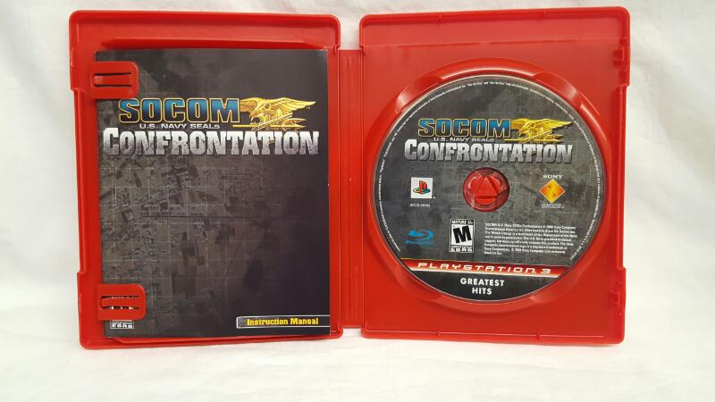 Sony PlayStation 3 Game SOCOM US NAVY SEALS CONFRONTATION