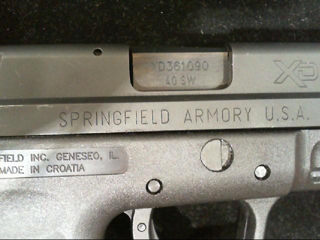 SPRINGFIELD ARMORY Pistol XD-40 XD9102HC