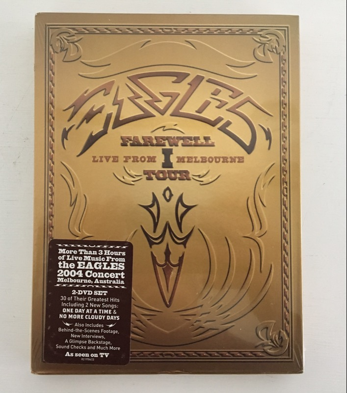 DVD MOVIE EAGLES FAReWELL TOUR LIVE FROM MELBOURNE