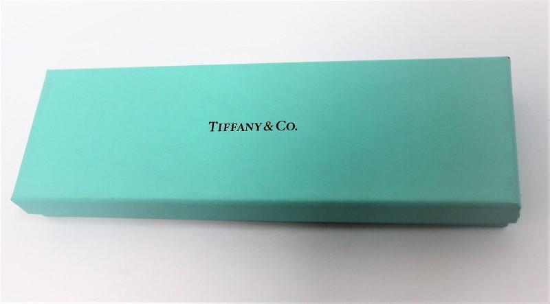 TIFFANY & CO Fashion Accessory BALLPOINT SILVER PEN