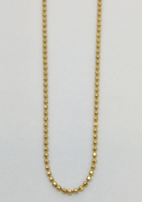 "32"" Gold Chain 14K Yellow Gold 4.2g"