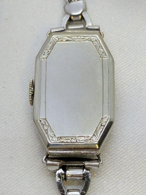 Gruen Ladies 14k/18k Art Deco Wristwatch