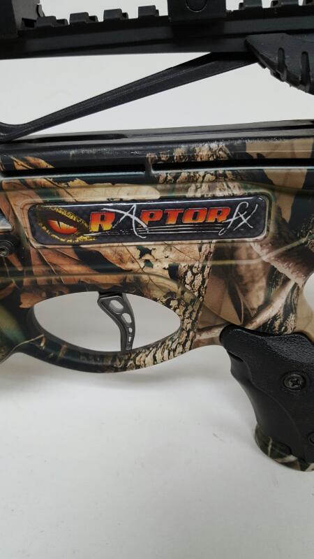 Barnett Raptor FX Crossbow Camo w/ 4x32 Scope