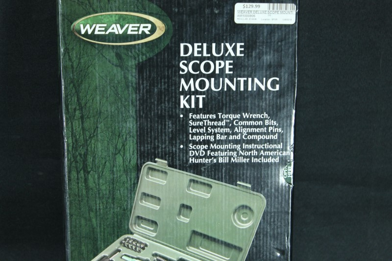 Weaver Deluxe Scope Mounting Kit 849721