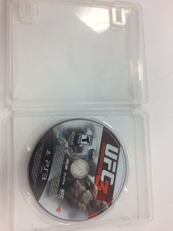 SONY Sony PlayStation 3 Game UFC UNDISPUTED 3