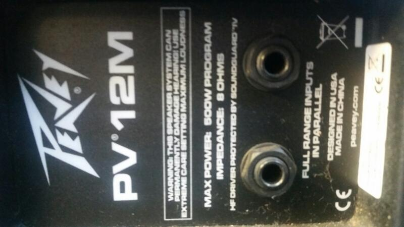 PEAVEY Speakers/Subwoofer PV12M
