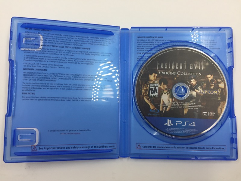 RESIDENT EVIL ORIGINS COLLECTION - PS4 - PLAYSTATION 4