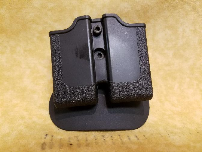Taurus 1911 Double Mag Paddle Holster Pouch - Black