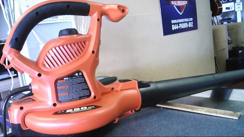 BLACK & DECKER Leaf Blower BV6000