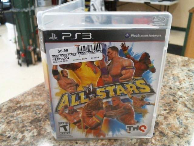 SONY Sony PlayStation 3 Game WWE ALL STARS