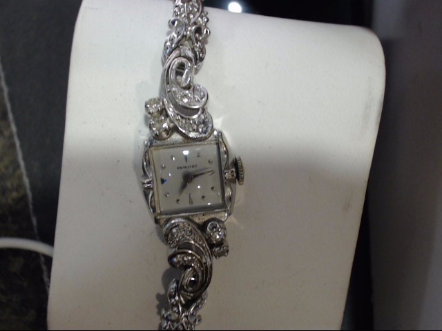 HAMILTON Lady's Wristwatch LADIES 14K & DIA