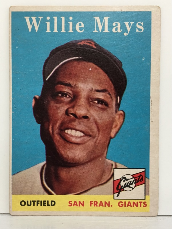 T.C.G. WILLIE MAYS OUTFIELD SAN FRAN. GIANTS