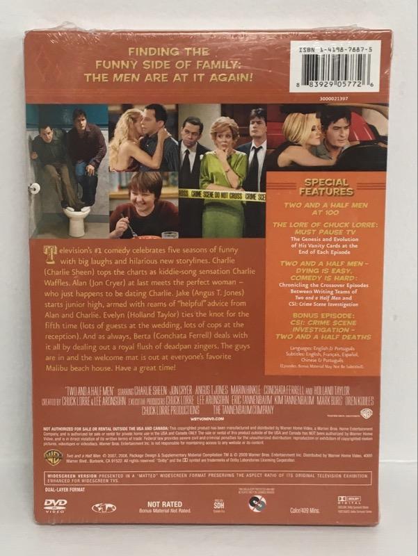 DVD BOX SET TWO AND A HALF MEN SEASON 5